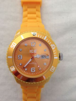 Ice - Watch - Sili Orange Big,  Ss.  Fo.  B.  S.  11 Bild