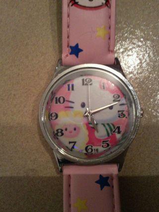 Hello Kitty Armbanduhr Für Mädchen Bild
