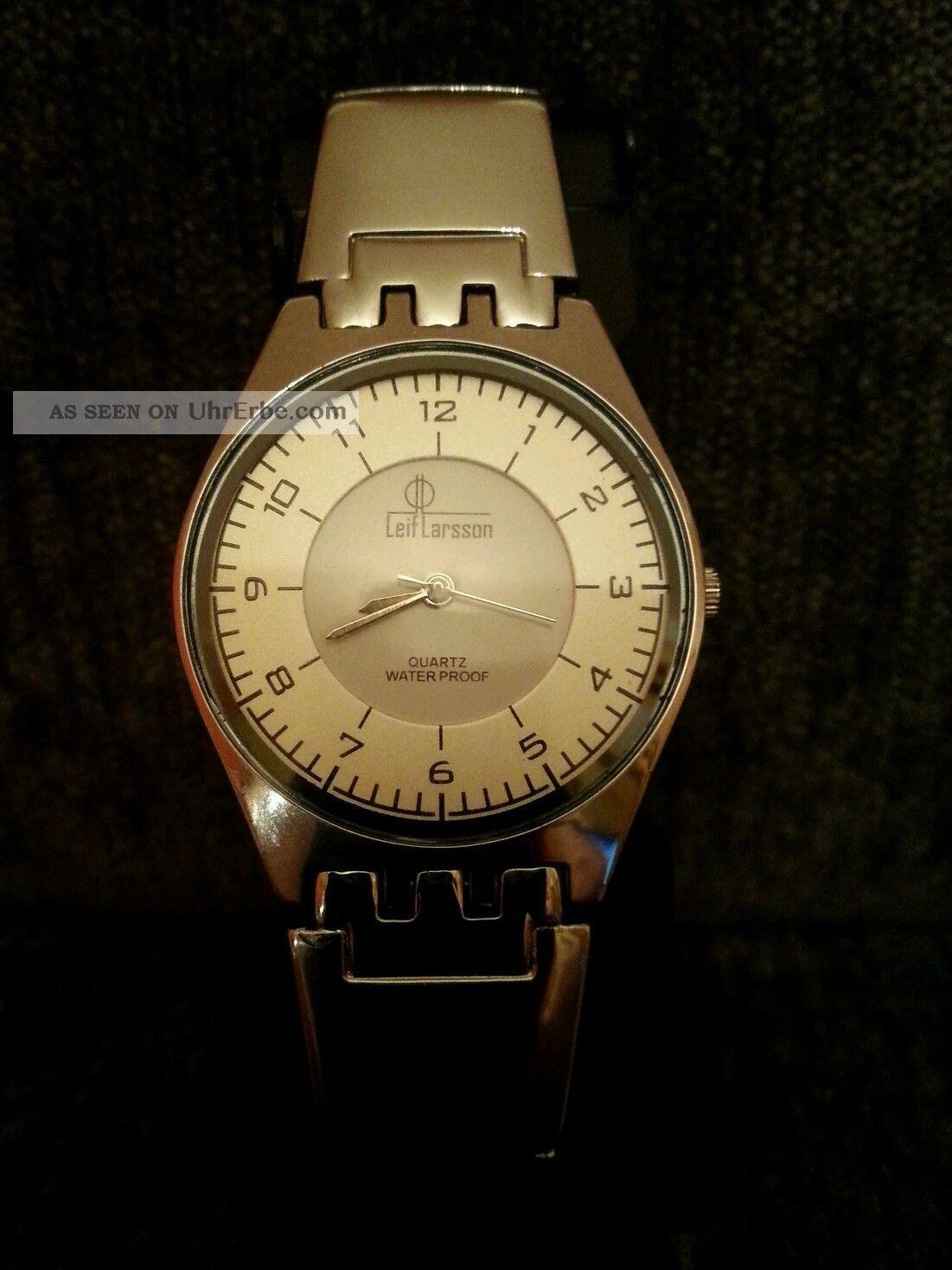 Leif Larsson Armbanduhr Armbanduhren Bild