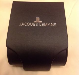Jacques Lemans U - 37c Leder Analog Armbanduhr Watch Uefa Champions League Bild