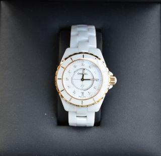 Chanel J12 Armbanduhr Für Damen Und Herren (h 2180) Bild