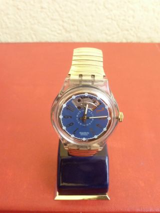 Swatch Automatik.  Armbanduhr.  Vollfunktionsfähig.  Near. Bild