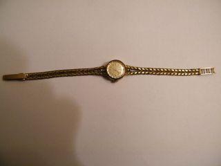Anker Damen - Gold - Uhr Gehäuse Aus 333 Band Aus 333 Gold Quartz Bild
