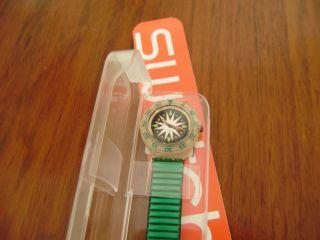 Swatch Scuba Ungetragen – Incl.  Neue Batterie Bild
