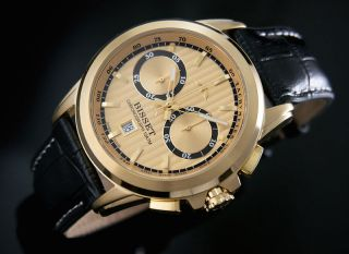 Bisset Bscx14 Stratus Ii Chronograph Herrenuhr Swiss Made Armbanduhr Bild