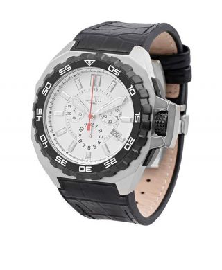 Esprit Herren Chronograph Uhr Geschenk Für Mann Schwarz Luxus Reduziert Bild