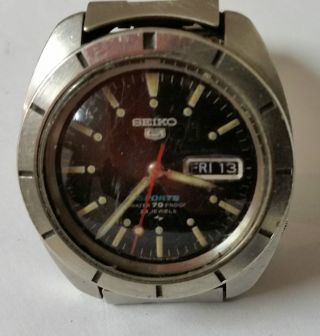 Seiko 5 Sport Automatik Armbanduhr Herrenarmbanduhr - Defekt Bild