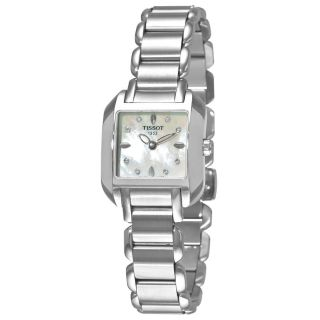 Tissot T02128574 Frauen T - Wave Mop DfÜ Stahl - Armband Diamant - Quarz - Uhr Bild