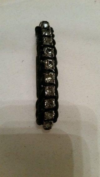 Swarovski Armband Schwarz Bild