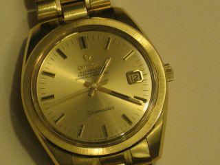 Omega Very Rare And Seamaster Cal.  564 Chronometer,  Bracelet 18k (nos) Bild