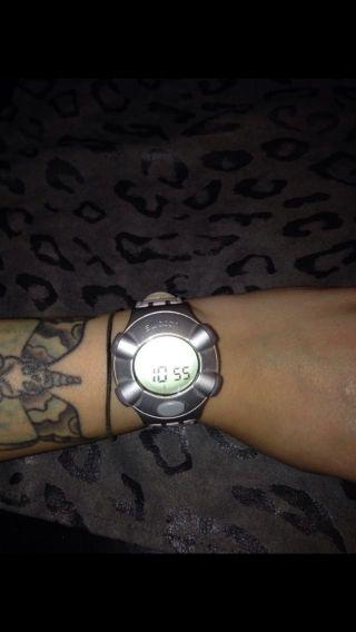 Swatch Beat Vintage Uhr Retro 90er Digitaluhr Sammlerstück Bild