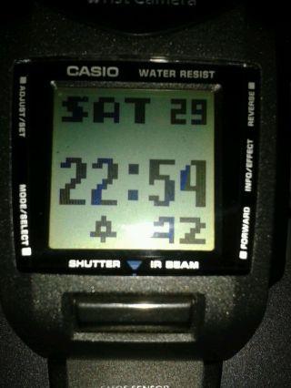 Casio Kamera Uhr Bild