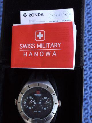 Armbanduhr Swiss Military Hanowa Dual Time - @ @ Bild
