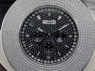 Mens Jojino Joe Rodeo 6 Row Kundenspezifische Lünette Diamant - Uhr Bild
