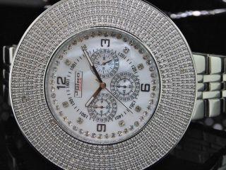 Herren Jojino Joe Rodeo 6 Reihen Benutzerdefinierte Lünette Diamant - Uhr Bild