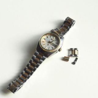 Seiko Damen - Armbanduhr | Bicolor | 80er Jahre | Defekt An Bastler Bild