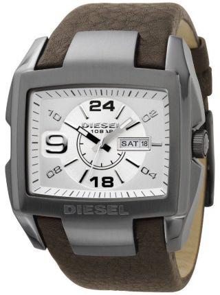 Diesel Leder Herren Armbanduhr Dz1216 Bild