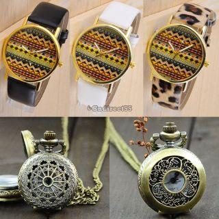 Mode Ripple - Armband - Quarz Halsketten - Kette Der Taschen - Led Sport Uhr - Geschenk Bild