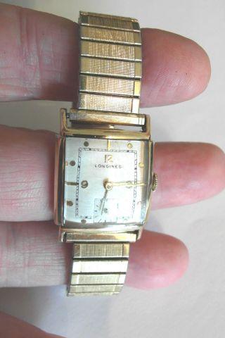 Vintage 1942 Hau Longines Cal 10l,  10k Gold Filled,  Sehr Schöner Bild