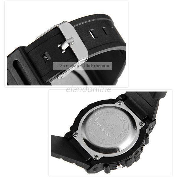 Schüler Jungen Mädchen Elektronische Led Digital Uhren Wasserdicht Armbanduhren Bild
