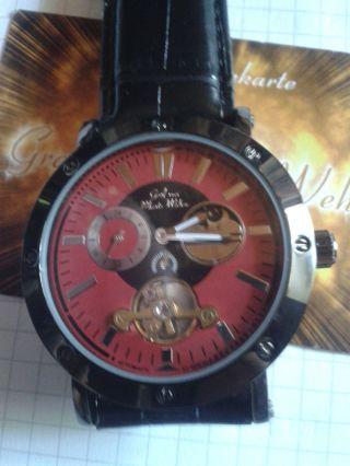 Graf Von.  Monte Wehro Roverto Red - - Leder Bild