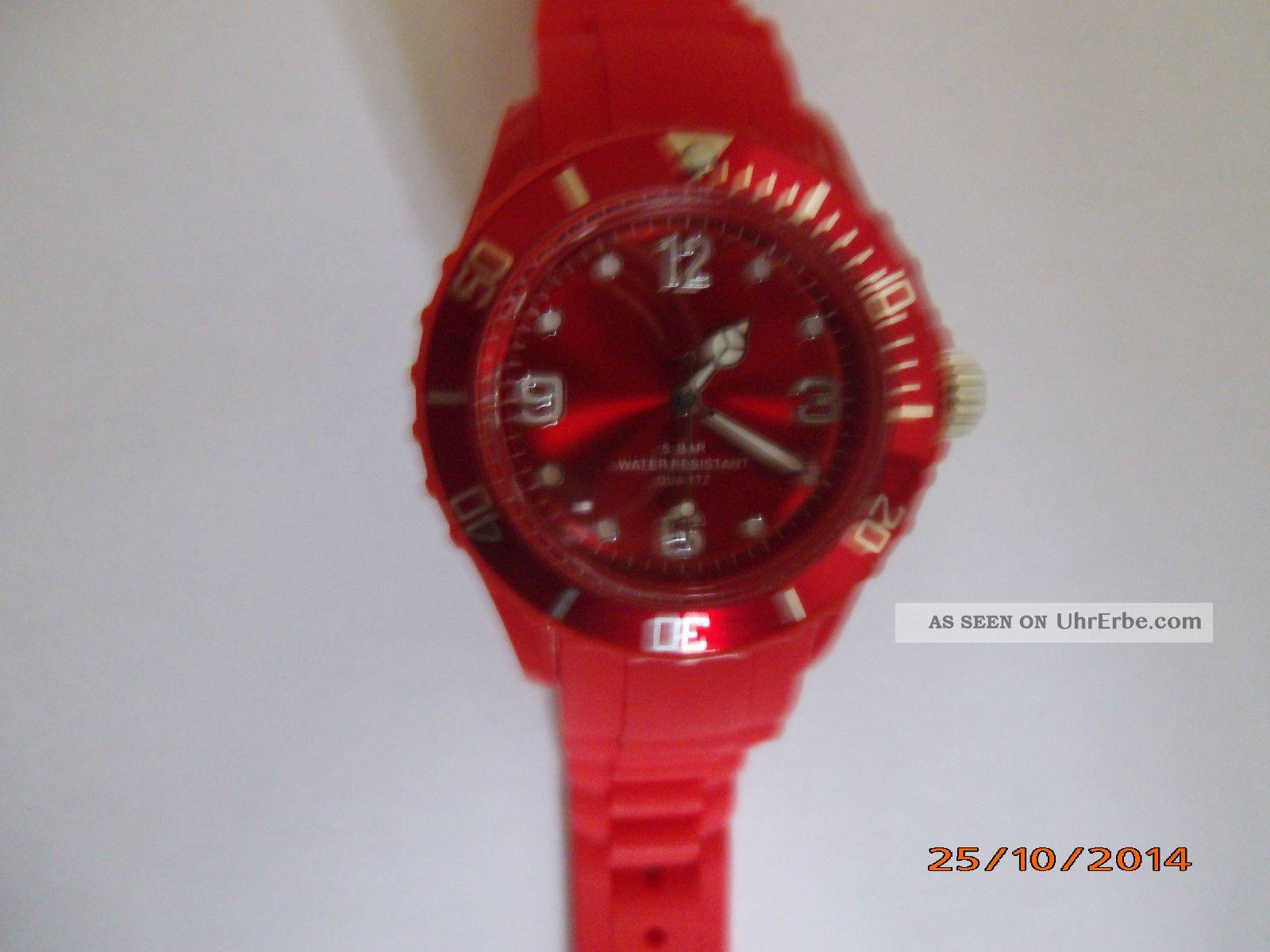Colour Watch Ungetragen Neue Batterie Armbanduhren Bild