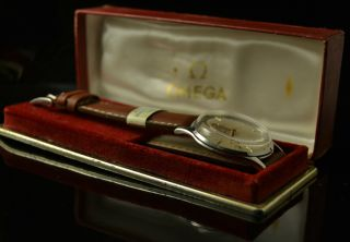 Men ' S Omega Cal.  600 Watch With Omega Red Box 35 Mm Bild