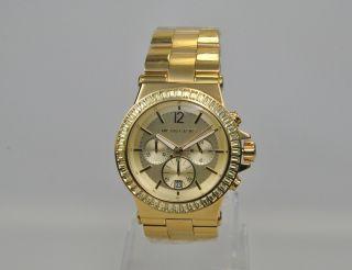 Michael Kors Mk5861 Damenuhr Armbanduhr Chronograph Edelstahl Bild