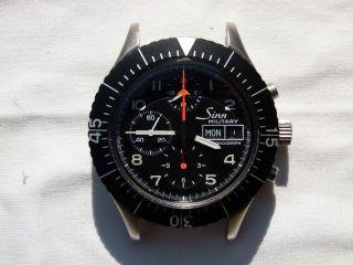 Sinn 156 Fliegerchronograph Lemania 5100 (military) Bild