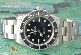 Rolex Submariner No Date Stahl 14060 Baujahr 1999 Bild