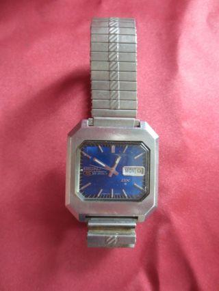 Seiko 5 Automatik 23 Steine Armbanduhr - Funktionsfähig Bild