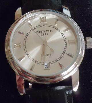 Kienzle Herren Uhr Armbanduhr Select 1822 Lederarmband Krokoprägung Quartz Bild