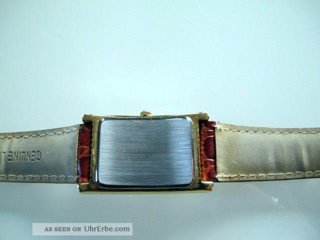schweizer goldbarren uhr m zertifikat armbanduhr gold echleder armband. Black Bedroom Furniture Sets. Home Design Ideas