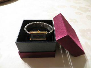 Armbanduhr,  Quartz,  Metall,  Stretch,  Weihnachtsgeschenk,  Silber - Und Goldfarben Bild