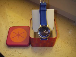 Armbanduhr Von Fossil,  Blaues Ziffernblatt/ Blaues Armband Bild