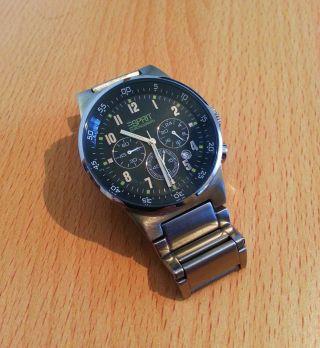 Esprit Herren Chronograph Armbanduhr Wie Bild