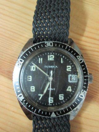 Dugena Herren Armbanduhr Sport Taucheruhr Bild