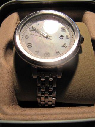 Fossil Damen Armband Uhr Mit Faltschliesse Am 4305 Bild