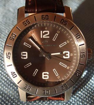 Tom Tailor Armbanduhr Unisex Mit Braunem Lederband Wie Bild