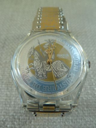 Edle Golden Prince 1994 Rar,  Swatch,  Ovp Inkl.  Neue Batterie Bild