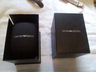 Empori Armani Herren Oder Damenarmbanduhr In Armanibox Bild