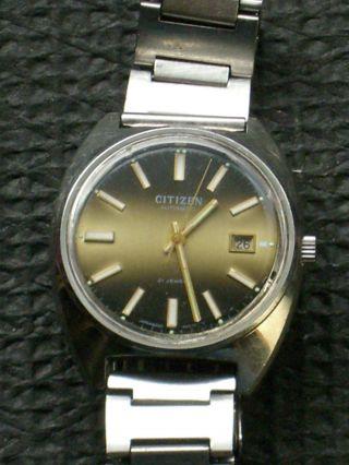 Seltene Mechanische Citizen Automatik Armbanduhr,  Hau,  Herrenarmbanduhr,  Herrenuhr Bild