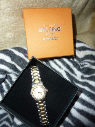 Neuw.  Ebel Damen - Luxus - Uhr,  18 K.  Gold Mit BrillantlÜnette,  Experetise: E 7.  190,  00 Bild