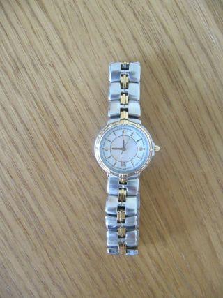 Dugena Damen Armband Uhr Bicolor Mit Faltschliesse Bild