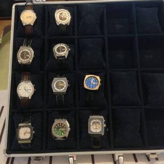 Kleine Sammlung Uhren Ricoh Bild