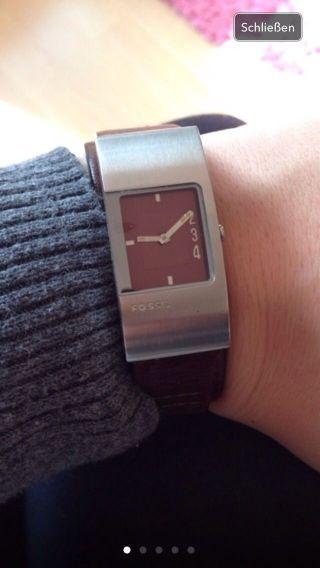 Schöne Damen Armbanduhr Von Fossil Bild