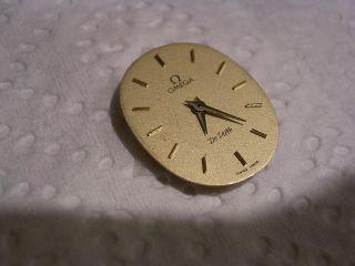 Omega De Ville Armbanduhr Werk Kal 1387 Vergoldet Bild