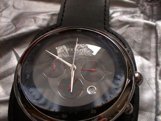 Axcent Herrenarmbanduhren X97001 - 237 Sehr Gut Erhalten Bild