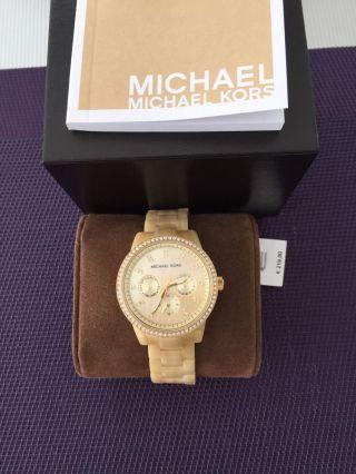 Michael Kors Damenuhr Mk5281 Mit Etikett Und Ovp Np:219,  00€ Bild