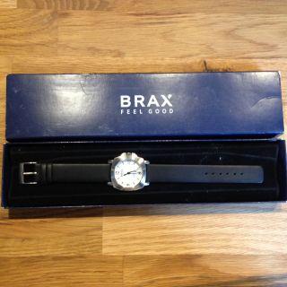 Uhr Armbanduhr Herren Damen Unisex Lederarmband Edelstahl Brax Feel Good Ovp Bild